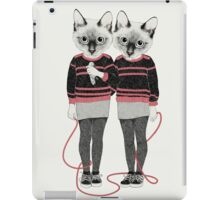 Siamese Twins iPad Case/Skin