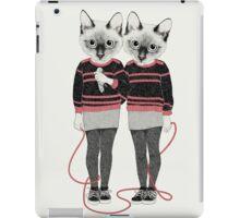 Siamese Twins iPad Case/Skin