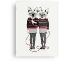 Siamese Twins Metal Print