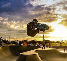 Skateboarder Jump by Antti Muranen