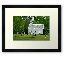 Country Church I Framed Print