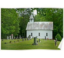 Country Church I Poster