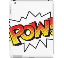POW! Onomatopoeia iPad Case/Skin