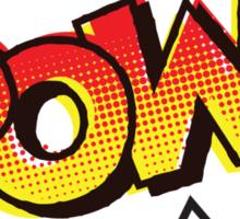 POW! Onomatopoeia Sticker