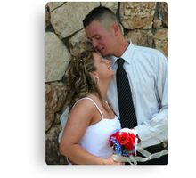 sweet kiss Canvas Print