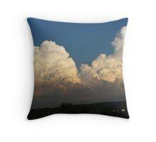 Whipped Cream Sky ~ Hamburg, NY Throw Pillow