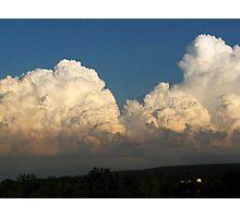Whipped Cream Sky ~ Hamburg, NY Photographic Print