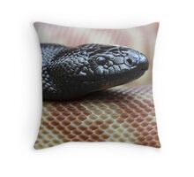 Black Headed Python - QLD form Throw Pillow