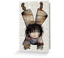 I Can Stand on My Hands Greeting Card