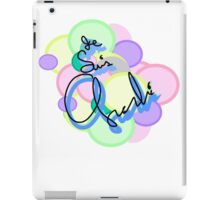 Je Suis Charlie Pastel: we refuse to be unhappy forever. iPad Case/Skin