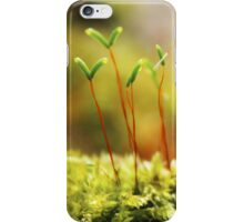 In the middle of the forest.. iPhone Case/Skin