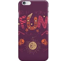 Fun Hand-Lettering iPhone Case/Skin