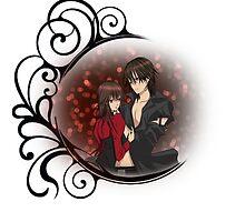 Vampire Knight - Yuki and Kaname by IzayaUke