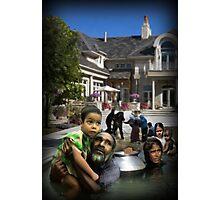 Pools of humanity Photographic Print