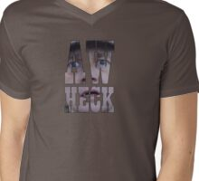 Aw heck. Mens V-Neck T-Shirt