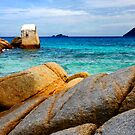 Rocky Ocean by Steven  Siow