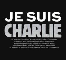 Je suis Charlie - CHARLIE HEBDO T-Shirt