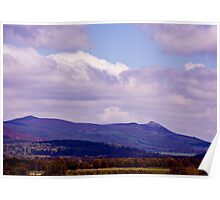 Bennachie From The South Poster