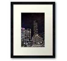 Southbank as Gotham City Framed Print