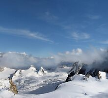 Mont Blanc Glacier by Chris Charlesworth