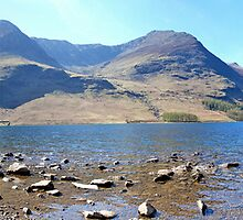 Buttermere Panorama by Chris Charlesworth