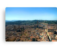 Florence High Canvas Print