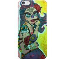 Maria De Los Muertos 2 iPhone Case/Skin