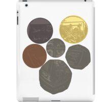 English Coins Shield iPad Case/Skin