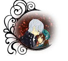 Vampire Knight - Zero and Yuki by IzayaUke