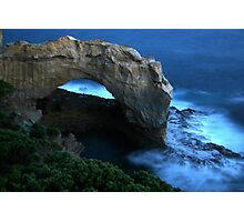 Moonlit Arch Photographic Print