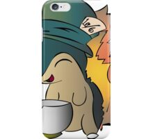 Tea Time Cyndaquil iPhone Case/Skin