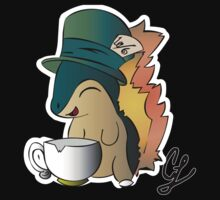 Tea Time Cyndaquil by OffsetServbot