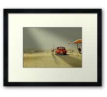 The Deal Framed Print
