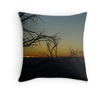Sunset from Mt. Feathertop Throw Pillow