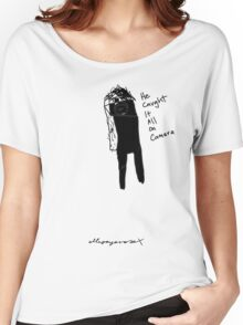 'He caught it all' Women's Relaxed Fit T-Shirt