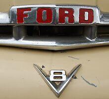 Ford V8 Power by Bev Woodman
