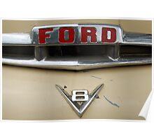 Ford V8 Power Poster