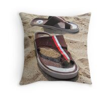 sandals Throw Pillow