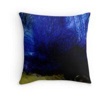 Phantasmagorical landscape Throw Pillow