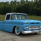 1962 Chevrolet C10 Pickup Truck Low Rider by TeeMack