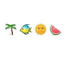 Tropical Paradise Emojis by CTNJFLMT