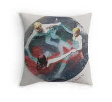Three Femme 1993 Throw Pillow