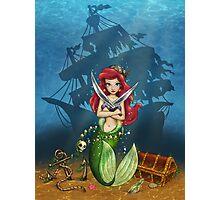 Siren's Shipwreck Photographic Print