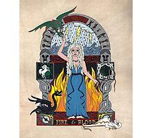 Daenerys Stormborn Targaryen, the Khaleesi illumination Photographic Print