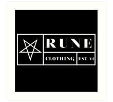 RUNE - BOX Art Print