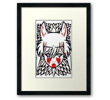mononoke, Framed Print