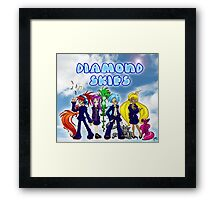 Diamond Skies Framed Print