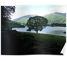 View Across The Lake Poster