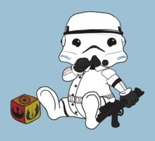 Baby stormtrooper design by seothello