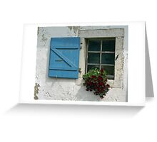 """words are doors or windows"" J. Salomé Greeting Card"